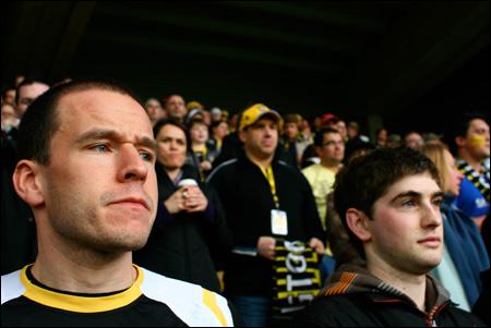 Mark looking pensive